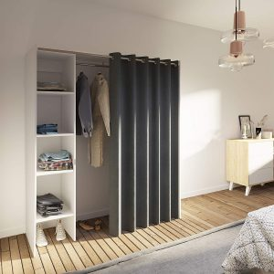 Comprar armario con cortinas Movian Arga