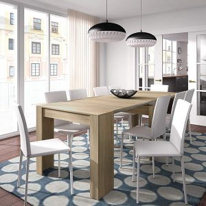 Mesa de comedor extensible Habitdesign