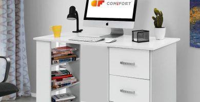 escritorio blanco
